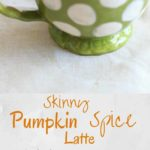 Skinny pumpkin spice latte - in the crockpot! Perfect for large parties or a way to treat yourself on a lazy morning.