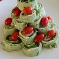 Christmas tree pita
