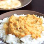 Crockpot red lentils