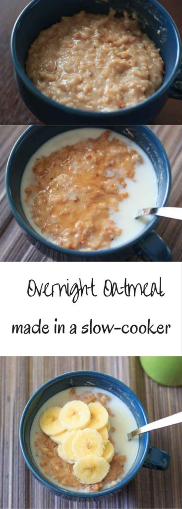 Steel cut oats that cook for you while you're sleeping. A great way to wake up and have breakfast in bed!