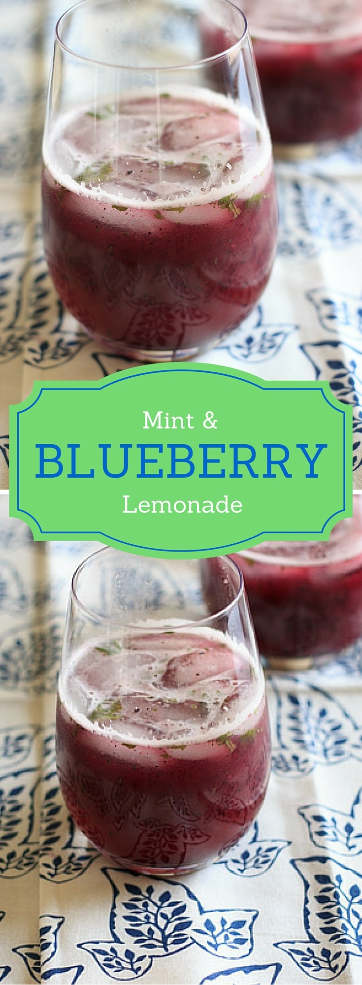 Blueberry mint lemonade - refreshing summer drink with fresh squeezed ...