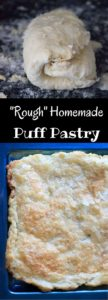 Rough puff pastry - make your own homemade puff pastry dough in less time than you think!