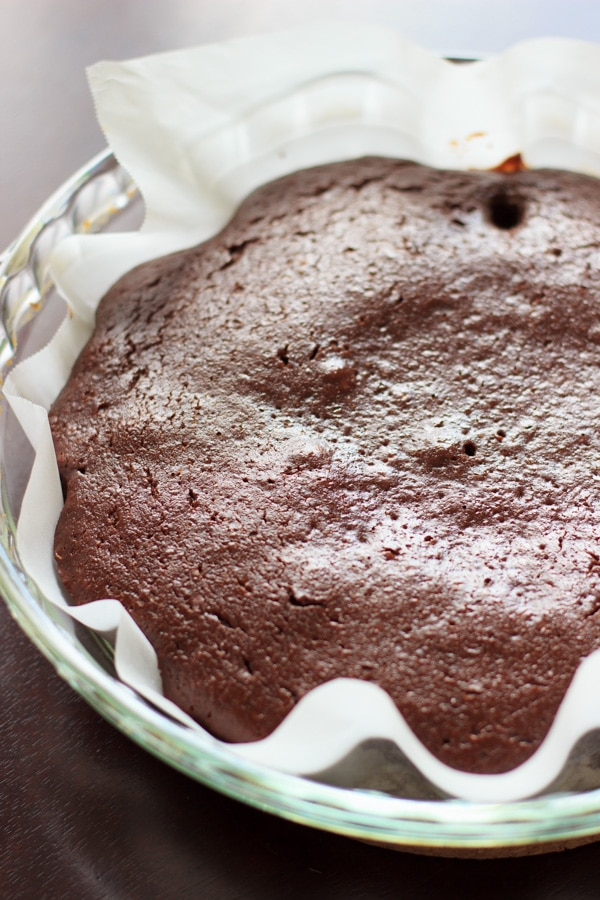 Skinny chocolate brownies made with applesauce and Greek yogurt that are almost cupcake-like in texture. These healthy (or at least healthier) brownies make for a great guilt-free dessert.   trialandeater.com