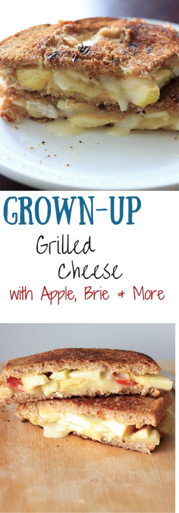 Grown-up Grilled Cheese - Brie cheese, tomato and more