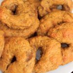 Pumpkin bagels - the perfect carb Fall breakfast. It's so much easier to make homemade bagels than I realized!
