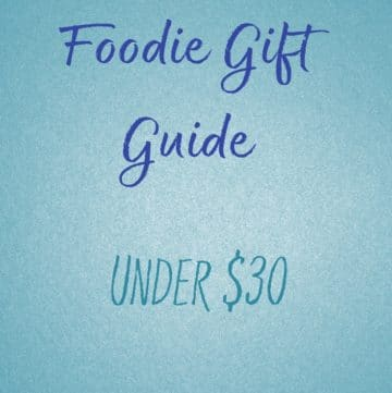 Foodie Gift Guide under $30