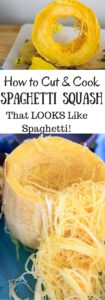 How to cut and cook a spaghetti squash in multiple ways - and a trick to get longer strands that might actually resemble spaghetti!