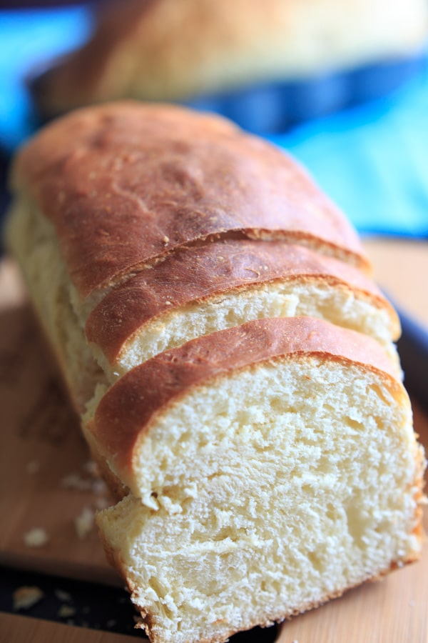 Easter Paska Bread - Nana's recipe for this Eastern European egg bread. I look forward to making this all year!
