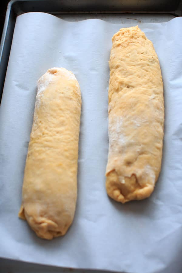Nana's Potica recipe - a Slovenian nut roll traditionally served at Easter and Christmas.