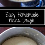 Easy Homemade Pizza Dough - Make your own dough in less time than ordering in. Quick yeast dough will make dinner prep easy!