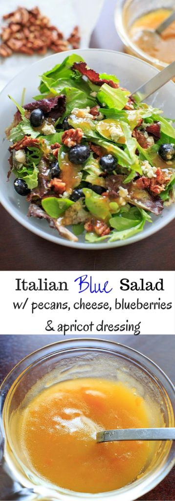 Italian Blue Salad pin