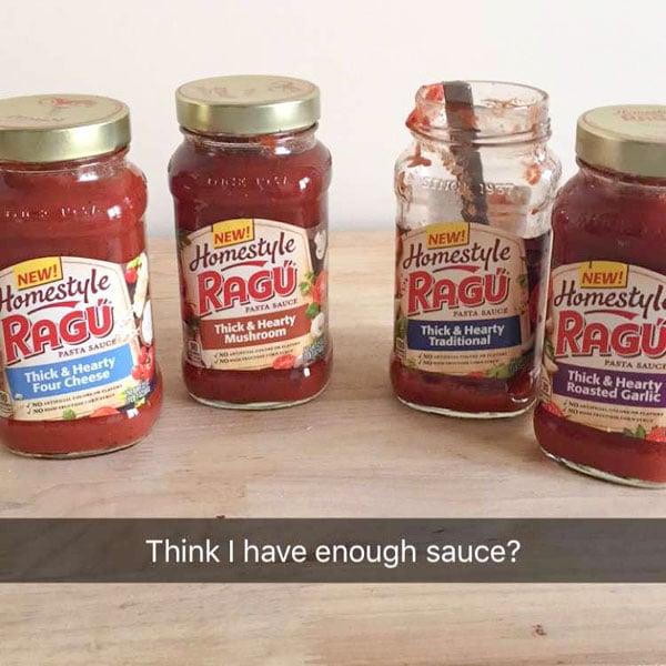 Ragu homestyle sauce - 4 flavors