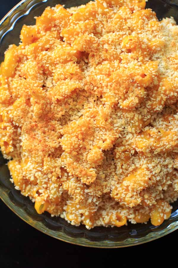 Cheddar Pumpkin Mac and Cheese - stovetop or casserole bake