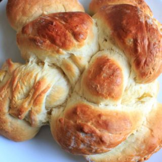 Honey Apple Challah Bread