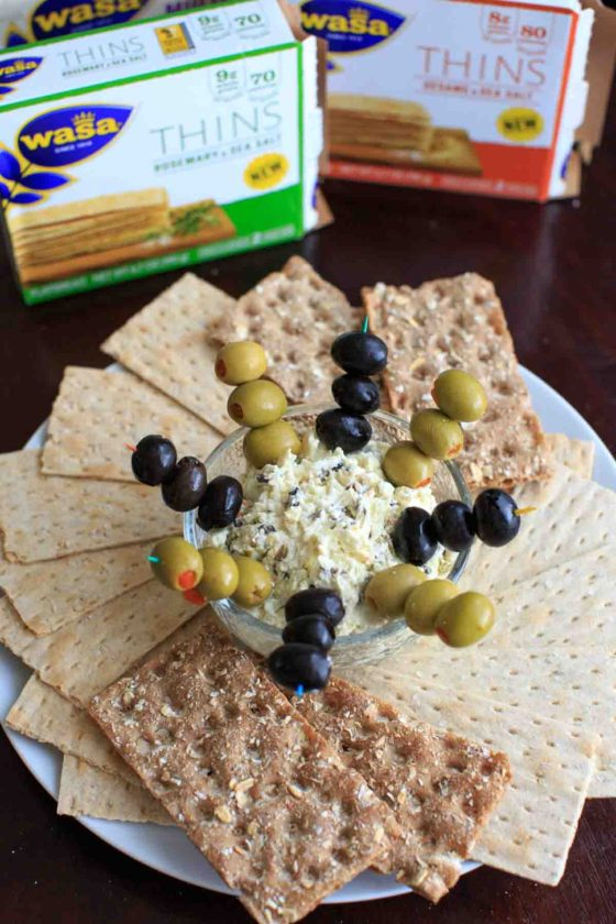 Olive and Goat Cheese Dip