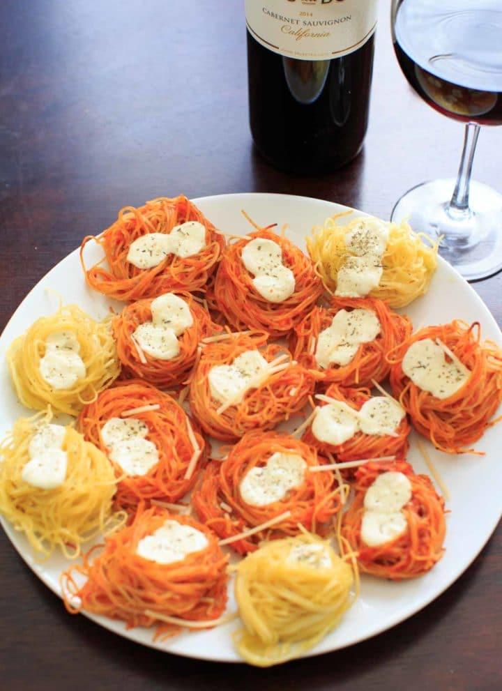 Baked Spaghetti Nests