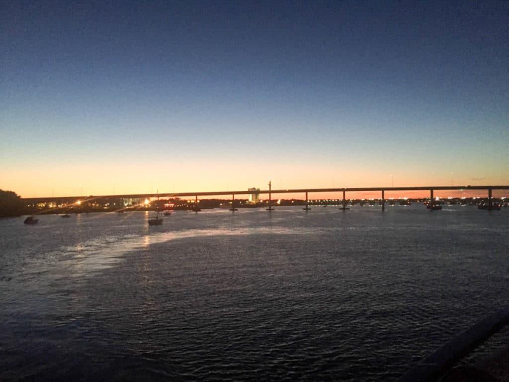 Spiritline Dinner Cruise on Charleston Harbor April 2017