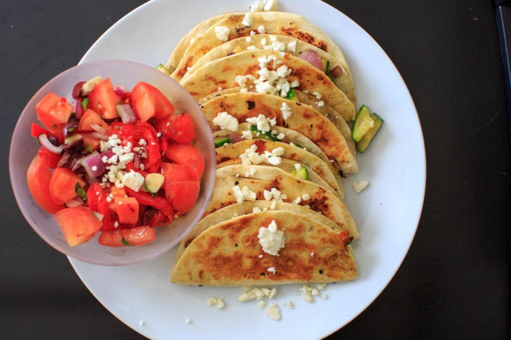 Home Chef Unpaid Review- Zucchini Quesadillas