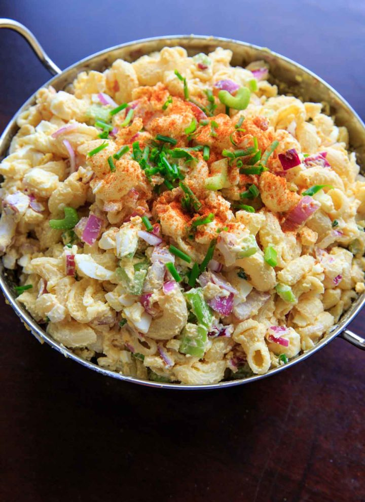 Egg Salad Macaroni Pasta