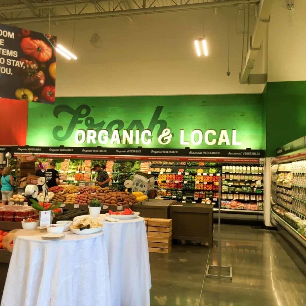 Organic & Local at Earth Fare Concord