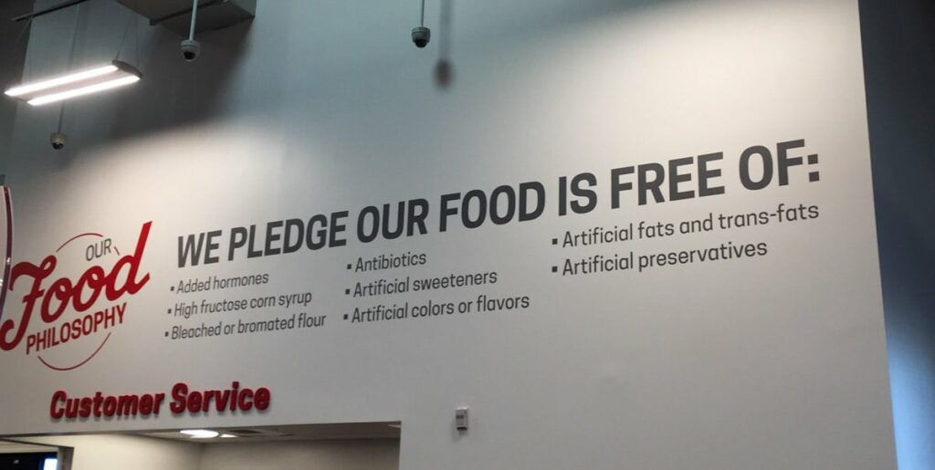 The Food Pledge at Earth Fare Concord