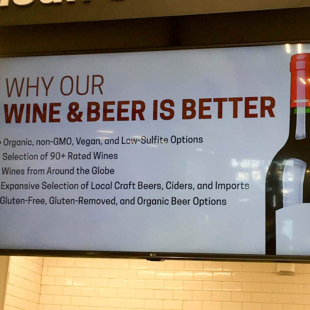 Why Our Wine and Beer is Better at Earth Fare Concord