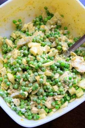 Grandma's Pea Salad with Dill
