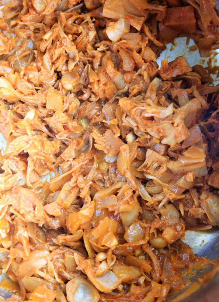 Vegan BBQ Pulled Jackfruit