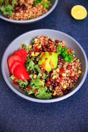 Kale and Quinoa Buddha Bowl