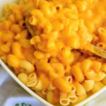 Butternut Squash Macaroni and Cheese is the perfect healthier comfort food. Squash in the cheddar sauce is a great way to sneak in some more veggies.