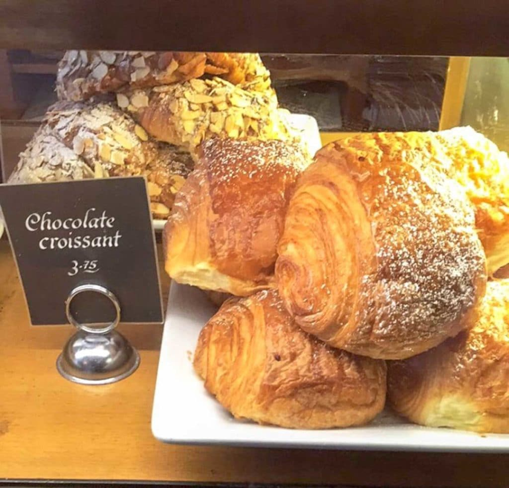 salt lake city evas cafe chocolate croissant