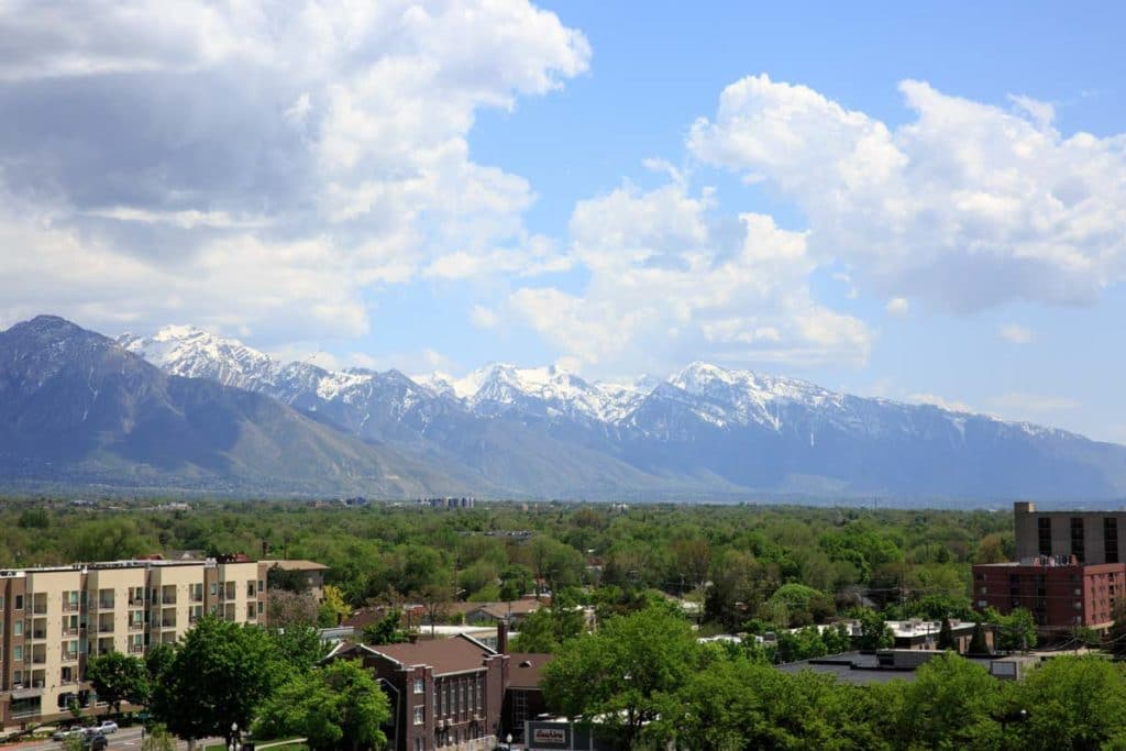 salt lake city view