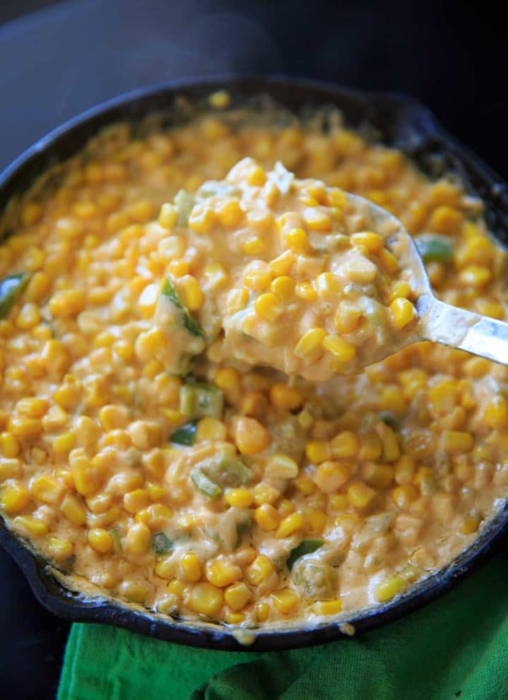 Creamy Spicy Hot Corn Dip