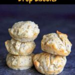 One bowl Vegan Herb Drop Biscuits. While not the same as flaky buttermilk non-vegan biscuits, these are perfect with soup and easy to throw together.