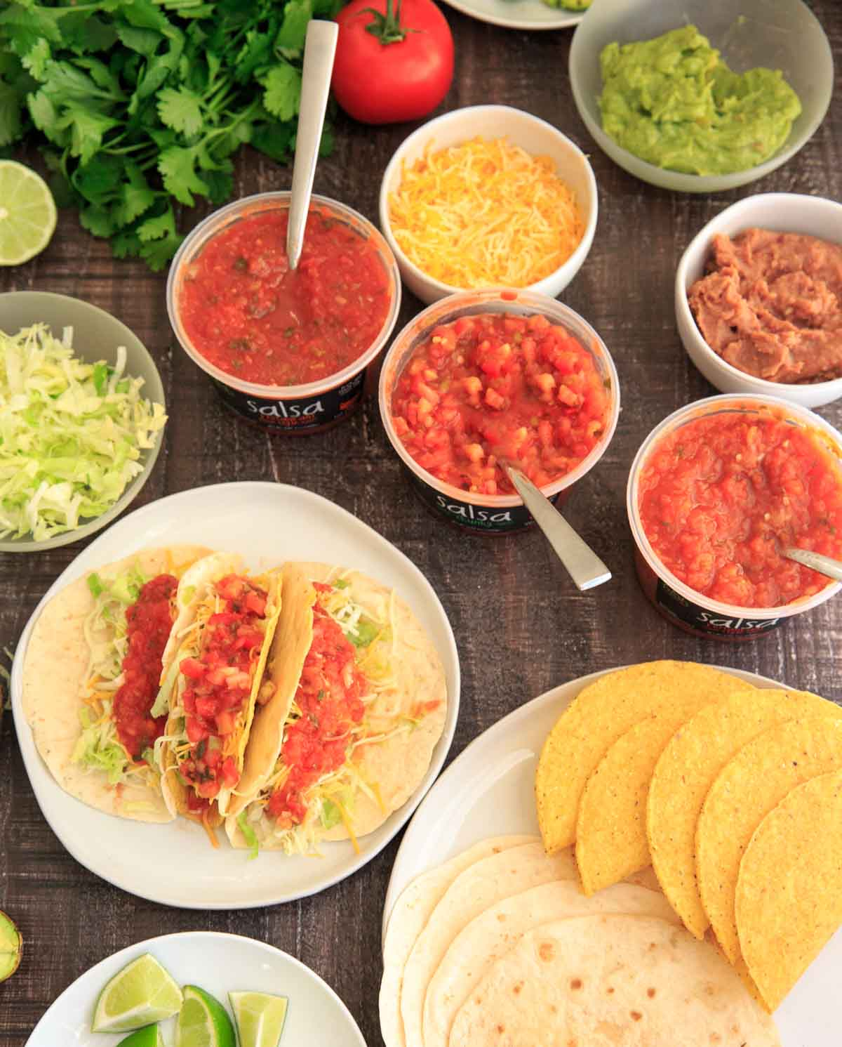Taco Night with Fresh Cravings Salsa