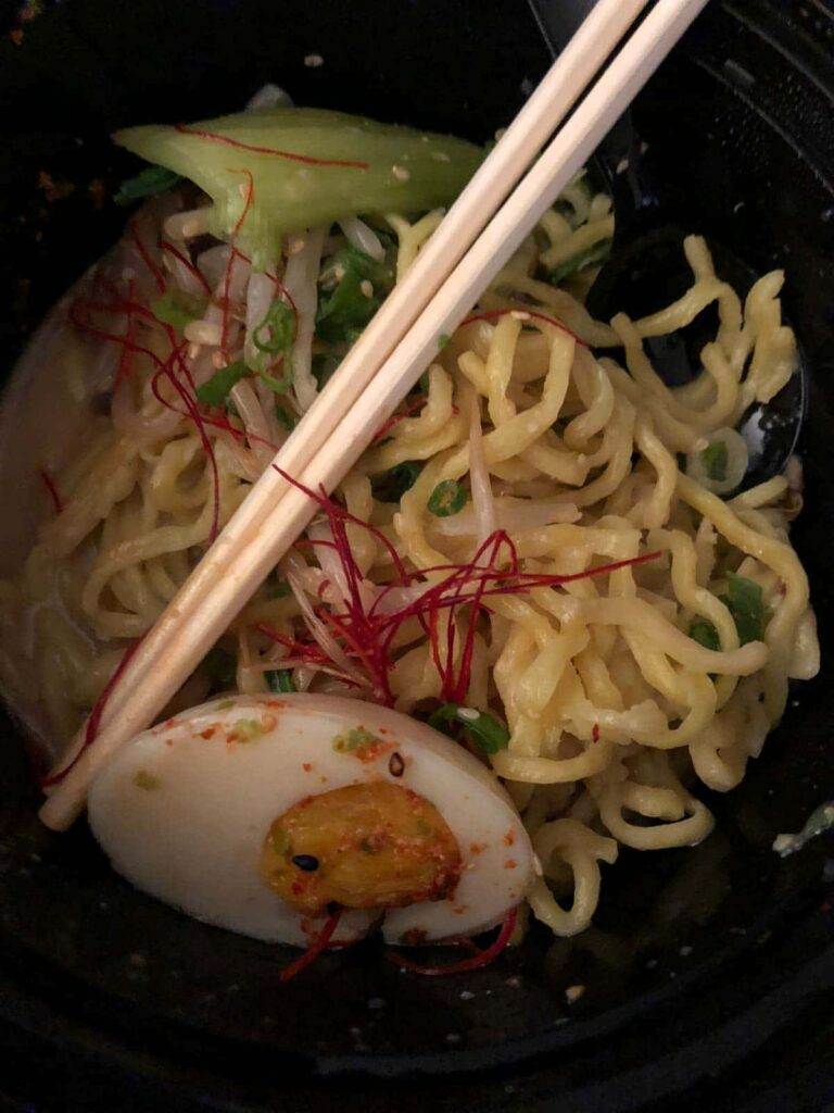 Ramen Hood Spicy with Vegan Egg
