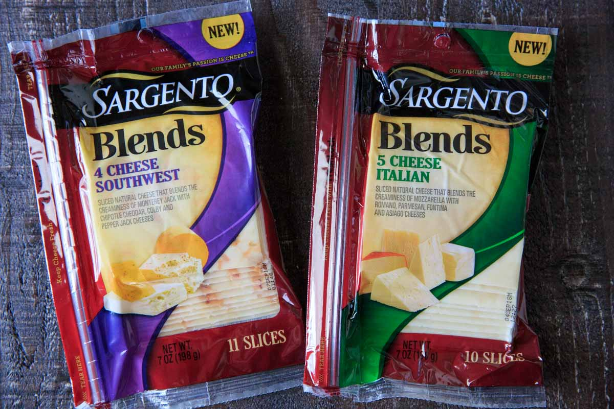 Sargento Cheese Blends 5 Cheese Italian and 4 Cheese Southwest Style