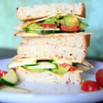 Sargento Cheese Slices Zucchini Sandwich