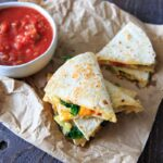 Garden Vegetable Quesadillas