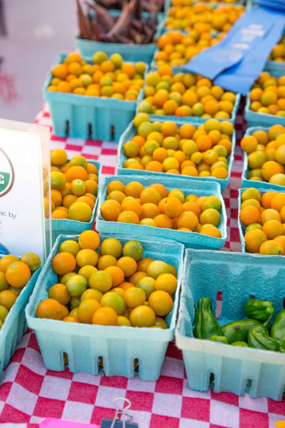 Durham Farmers Market tomatoes