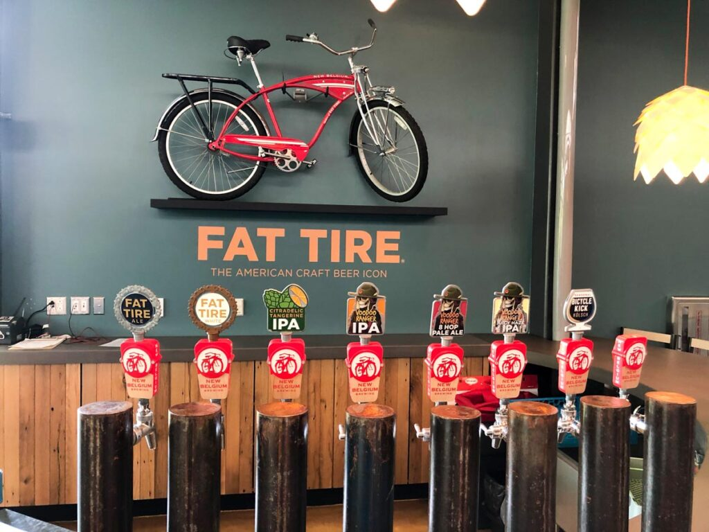 New Belgium Brewery tour - fat tire