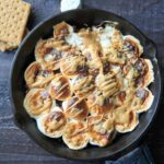 Skillet S'mores - easy oven baked homemade smores.