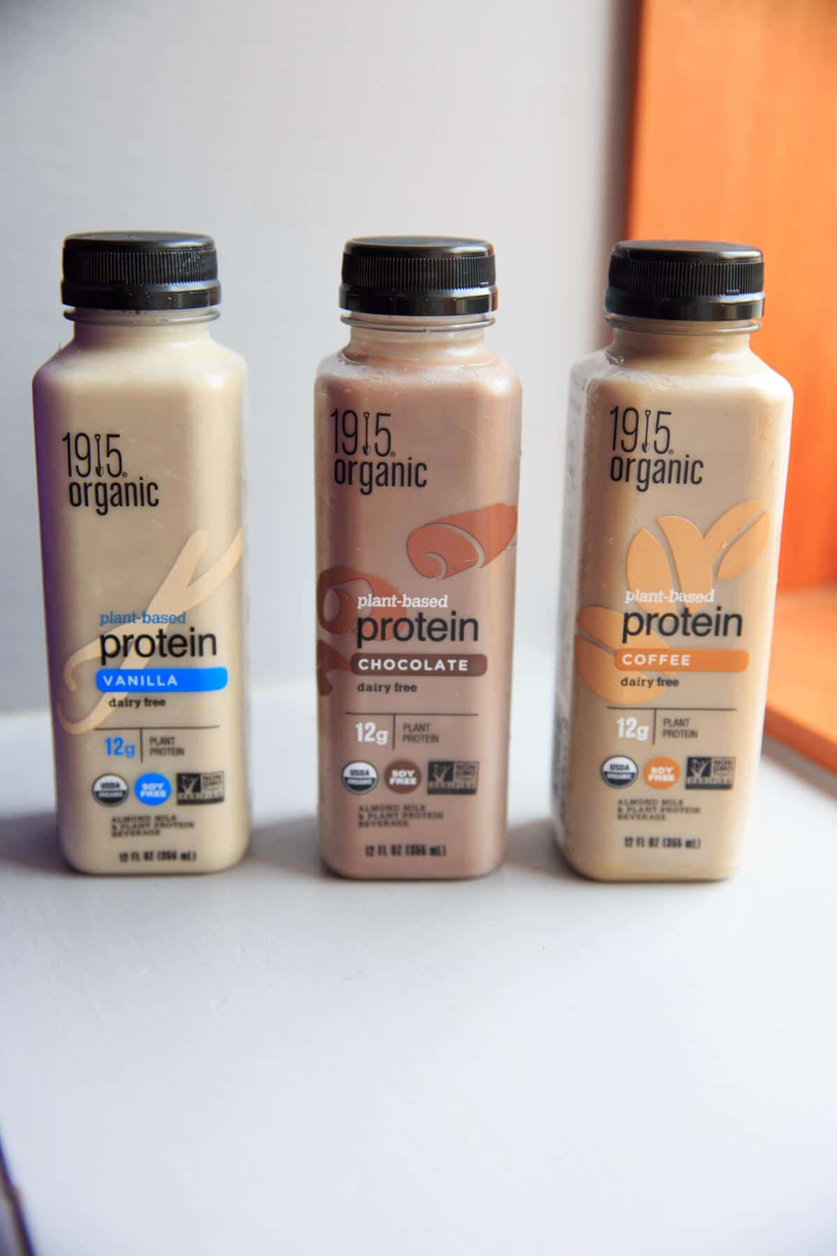 1915 Organic Protein Drink - Chocolate, Vanilla and Coffee