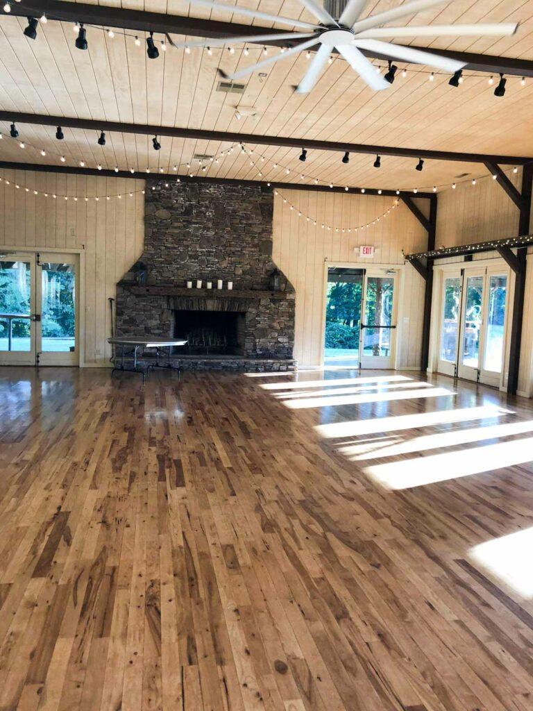 The farm wedding venue