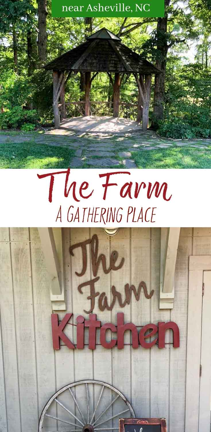 The Farm: A Gathering Place; outside of Asheville, NC in Candler. A premier wedding and events venue with a gorgeous farm campus, rustic cottages, and horses! #asheville #ashevillenc #weddingvenue #thefarm #travel
