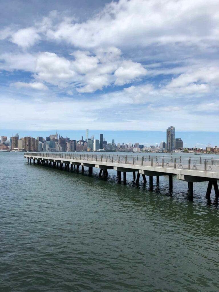 New York City Brooklyn Ferry view