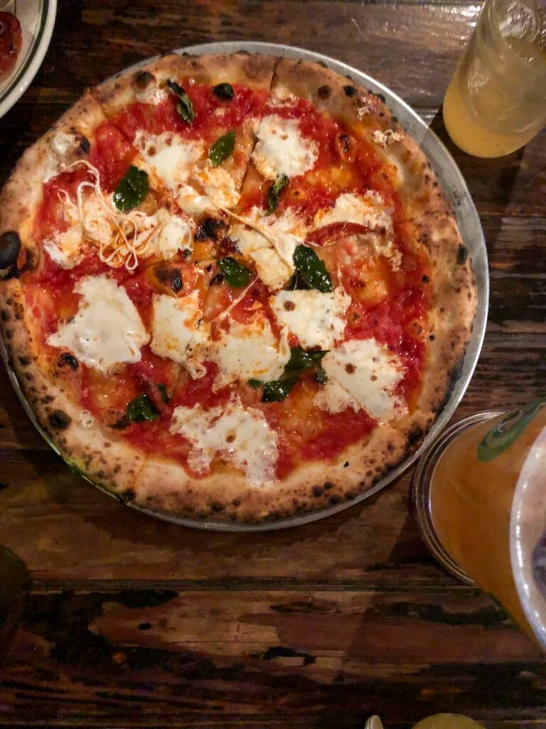 Roberta's Pizza Brooklyn - Bee Sting Pizza