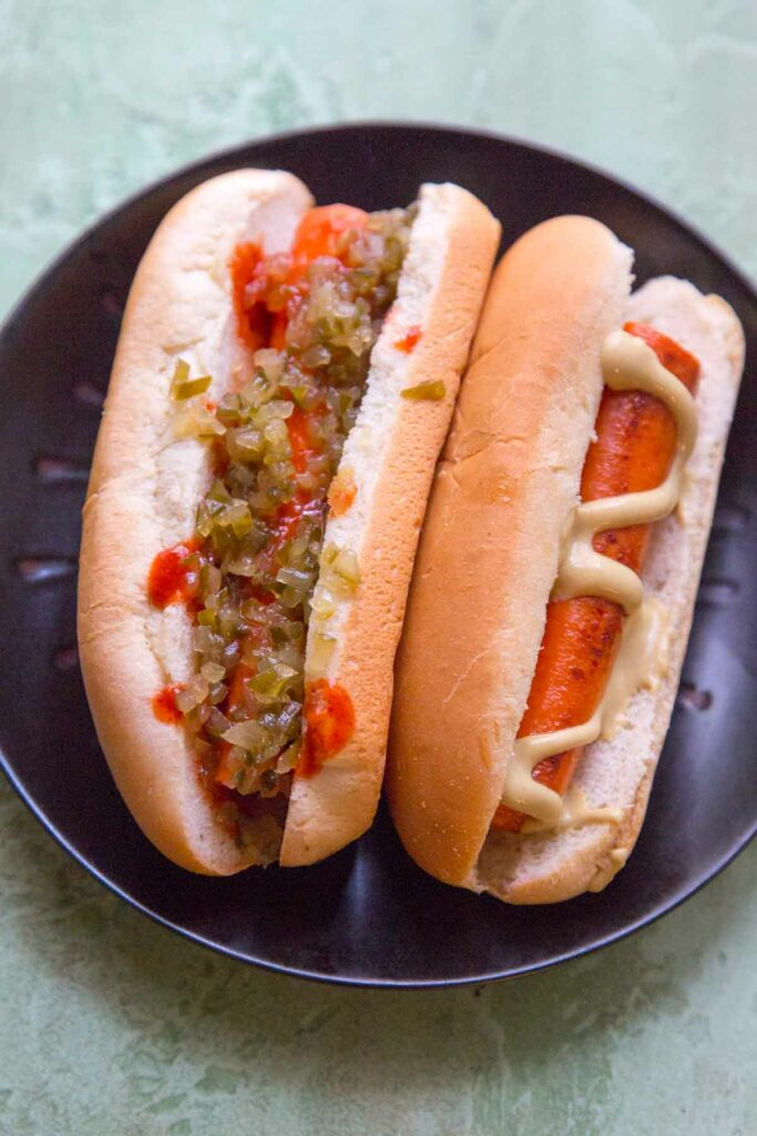 Vegan Carrot Hot Dogs - or Not Dogs