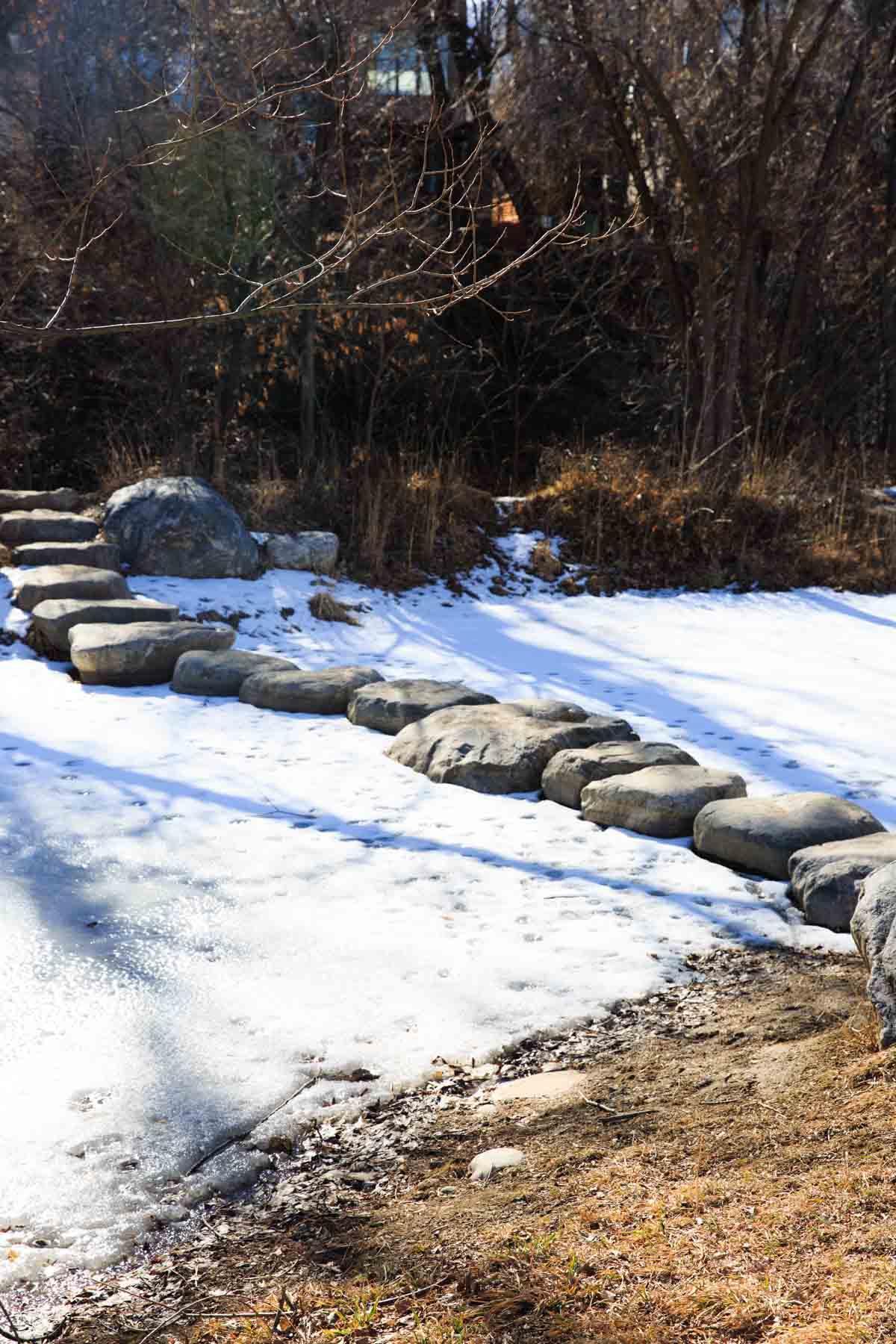 Boulder creek path views