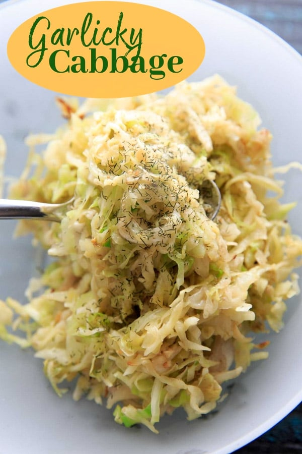 A simple side dish to saute shredded cabbage - for St. Patricks Day or any day you have cabbage to use up! You'll like this recipe if you like a naturally peppery flavor, and need a quick, vegan and gluten-free way to prepare this vegetable.